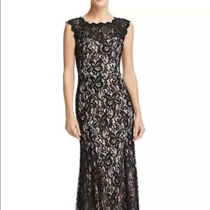 Burgundy Lace Formal Gown 8 NWT Decode 1.8